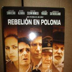 Cine: DVD - REBELION EN POLONIA / 2 DISCOS - PEDIDO MINIMO DE 10€. Lote 222876657