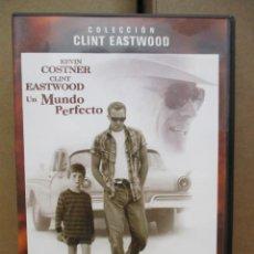 Cine: DVD - UN MUNDO PERFECTO / COSTNER - EASTWOOD - PEDIDO MINIMO DE 10€. Lote 222877348