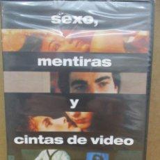 Cine: DVD -SEXO MENTIRAS Y CINTAS DE VIDEO - PRECINTADA - PEDIDO MINIMO DE 10€. Lote 222877717