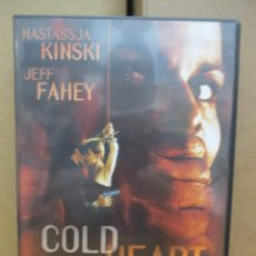 Cine: DVD - COLD HEART / DESESPERADA - NASTASSJA KINSKI - PEDIDO MINIMO DE 10€. Lote 222879177