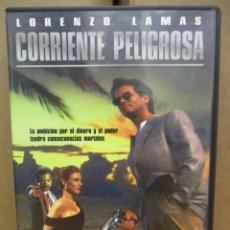 Cine: DVD - CORRIENTE PELIGROSA / LORENZO LAMAS - PEDIDO MINIMO DE 10€. Lote 222879498