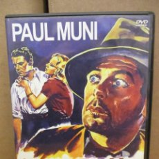 Cine: DVD - SOY UN FUGITIVO / PAUL MUNI - PEDIDO MINIMO DE 10€. Lote 222967822