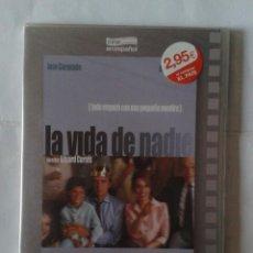 Cinéma: LA VIDA DE NADIE- JOSE CORONADO- DVD NUEVO PRECINTADO SLIM. Lote 223015066