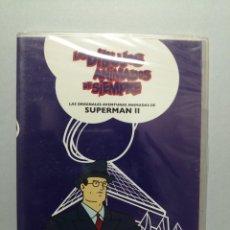 Cine: DVD DIBUJOS ANIMADOS DE SIEMPRE SUPERMAN II PERIÓDICO EL PAÍS PRECINTADO. Lote 223055712