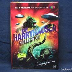 Cine: RAY HARRYHAUSEN COLLECTION - 3 DVD. Lote 223266685
