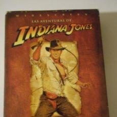 Cine: LAS AVENTURAS DE INDIANA JONES. LA TRILOGIA EN DVD. CON HARRISON FORD. EN BUSCA DEL ARCA PERDIDA. IN. Lote 223640825