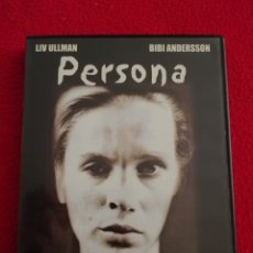 Cinema: DVD PERSONA - LIV ULLMANN - BIBI ANDERSSON. Lote 223651457