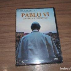 Cinema: PABLO VI UN PAPA EN TEMPESATAD SERIE COMPLETA 2 DVD NUEVA PRECINTADA. Lote 223990483
