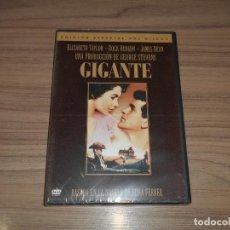 Cine: GIGANTE EDICION ESPECIAL 2 DVD DE GEORGE STEVENS ELIZABETH TAYLOR ROCK HUDSON JAMES DEAN PRECINTADA. Lote 267877529