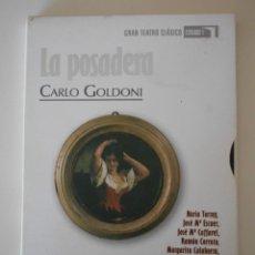 Cine: LA POSADERA. CARLO GOLDONI. DVD RTVE. GRAN TEATRO CLASICO. ESTUDIO 1. CON NURIA TORRAY, JOSE MARIA E. Lote 240768820