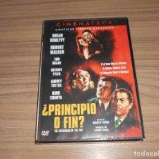 Cine: PRINCIPIO O FIN EDICION ESPECIAL DVD + LIBRO BRIAN DONLEVY NUEVA PRECINTADA. Lote 245389960