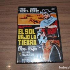 Cinéma: EL SOL BAJO LA TIERRA DVD FABIO TESTI NUEVA PRECINTADA. Lote 224295790