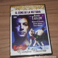 Cine: EL GONG DE LA VICTORIA / DVD BOXEO GANGSTERS / ROBERT TAYLOR - MAUREEN O´SULLIVAN. Lote 224340375