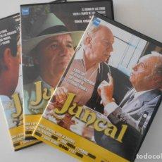 Cine: JUNCAL. 3 DVD'S CON LA MITICA SERIE DE TVE COMPLETA. DIRIGIDA POR JAIME DE ARMIÑAN. CON FRANCISCO RA. Lote 224470571