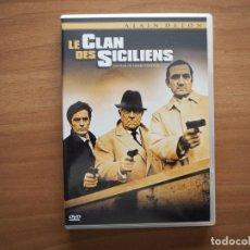 Cinema: LE CLAN DES SICILIENS - ALAIN DELON, JEAN GABIN, LINO VENTURA - EN FRANCÉS. Lote 224621813