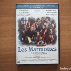 Cinema: LES MARMOTTES - ANDRÉ DUSSOLIER, JACQUELINE BISSET - EN FRANCÉS. Lote 224625735