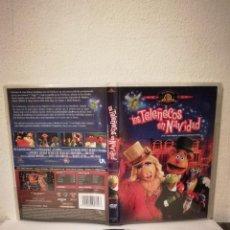 Cinéma: DVD ORIGINAL - LOS TELEÑECOS EN NAVIDAD - INFANTIL. Lote 224809686