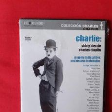 Cine: CHARLIE VIDA Y OBRA DE CHARLES CHAPLIN. RICHARD SCHICKEL (PRECINTADO). Lote 224884723