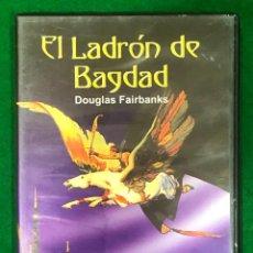 Cine: EL LADRÓN DE BAGDAD (THE THIEF OF BAGDAD) 1924 RAOUL WALSH, DOUGLAS FAIRBANKS DVD-1451. Lote 224906148