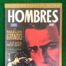 Cine: HOMBRES - MARLON BRANDO / DVD RF-1453 , PERFECTO ESTADO. Lote 224907040