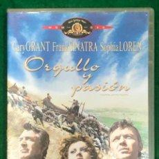 Cine: ORGULLO Y PASION - DVD RF-1454 , BUEN ESTADO. Lote 224907278