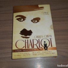 Cine: CHARLOT GRAN SELECCION 3 DVD CHARLES CHAPLIN. Lote 225188591