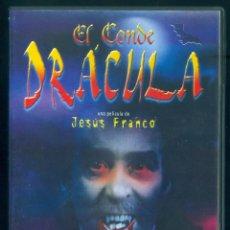 Cine: DVD EL CONDE DRACULA CHRISTOPHER LEE KLAUS KINSKI SOLEDAD MIRANDA DE JESUS FRANCO TERROR VAMPIROS. Lote 225285245