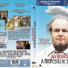 Cine: A PROPÓSITO DE SCHMIDT - ALEXANDER PAYNE. Lote 225404832