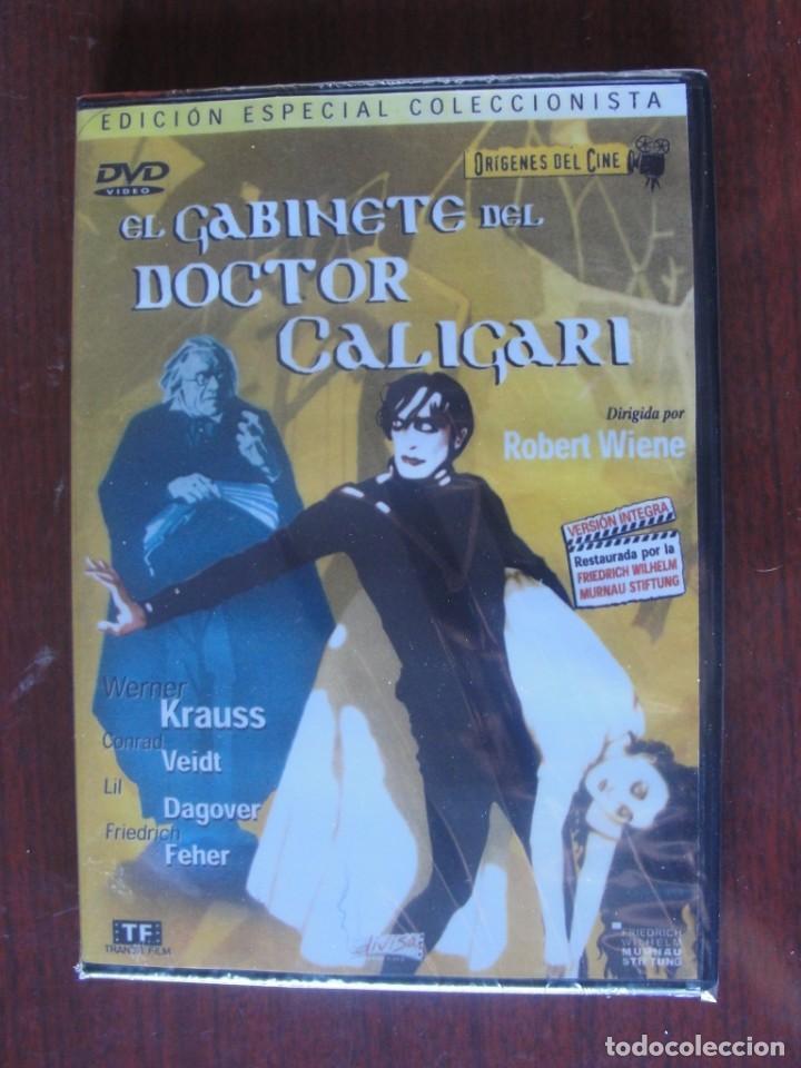 EL GABINETE DEL DOCTOR CALIGARI / OBRA MESTRA EXPRESIONISMO ALEMAN - ENVIO GRATIS - PRECINTADA -1920 (Cine - Películas - DVD)
