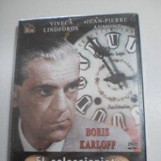 Cine: DVD EL COLECCIONISTA DE CADÁVERES. BORIS KARLOFF. DE SANTOS ALCOCER. 95 MIN (PRECINTADA). Lote 225967967