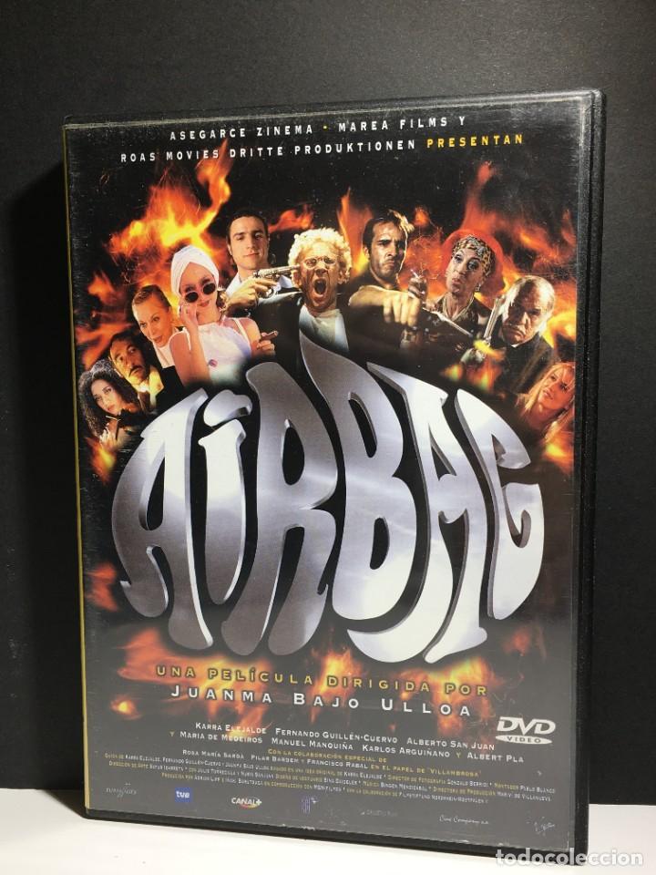 AIRBAG // DVD - PAL 2 // 1997 - JUANMA BAJO ULLOA (Cine - Películas - DVD)