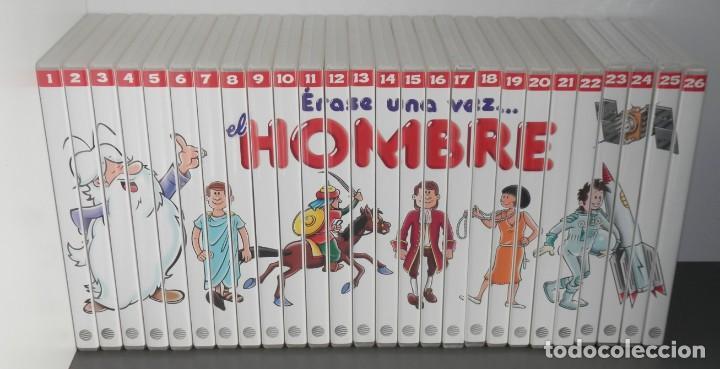 SERIE DE 26 DVD DE LA SERIE ÉRASE UNA VEZ EL HOMBRE (Cine - Películas - DVD)