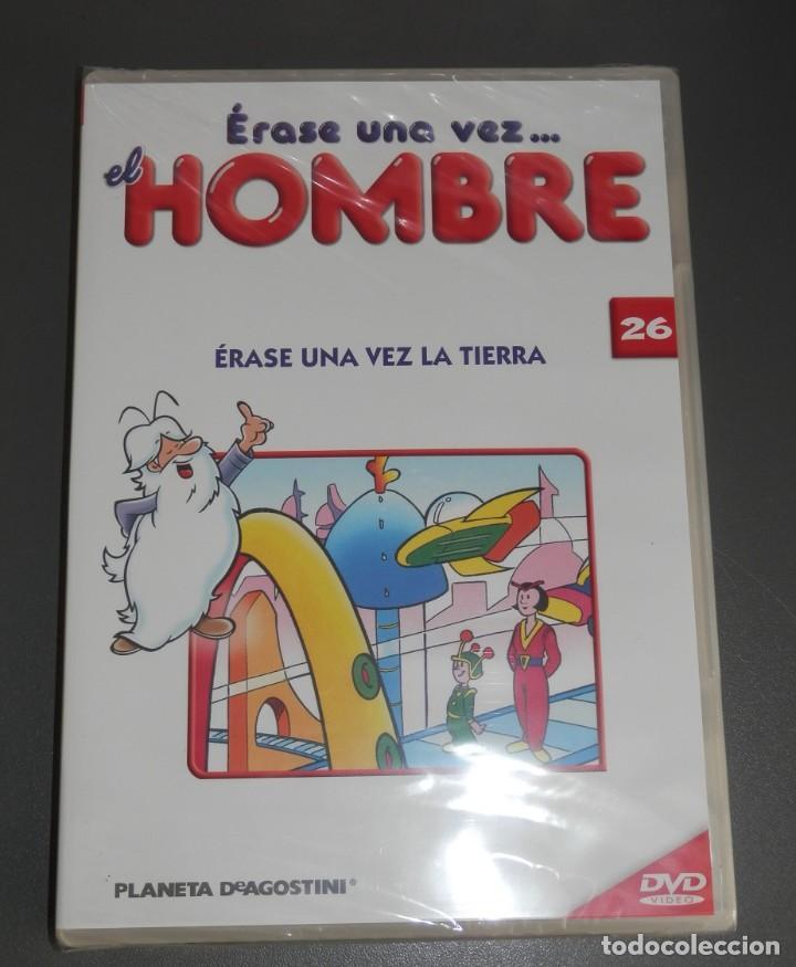 Cine: SERIE DE 26 DVD DE LA SERIE ÉRASE UNA VEZ EL HOMBRE - Foto 2 - 226116183