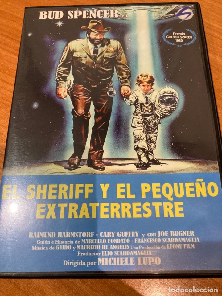 EL SHERIFF Y EL PEQUEÑO EXTRATERRESTRE (Cine - Películas - DVD)