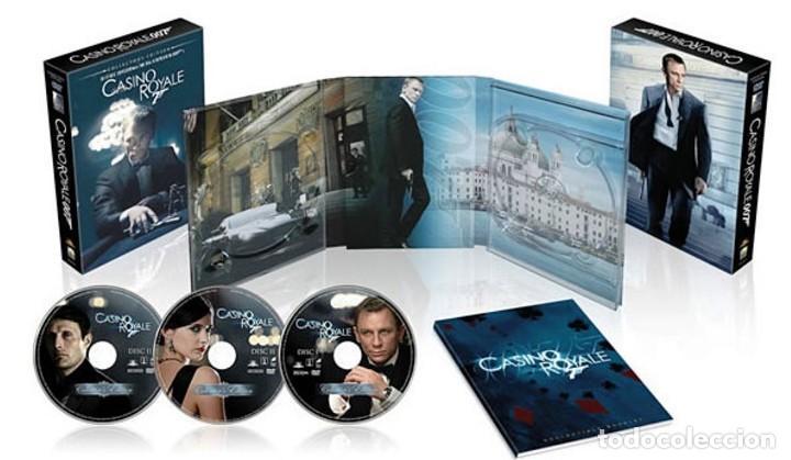 007 CASINO ROYALE (DELUXE EDITION DIGIPACK 3 DISCOS) DANIEL CRAIG - DESCATALOGADA (Cine - Películas - DVD)