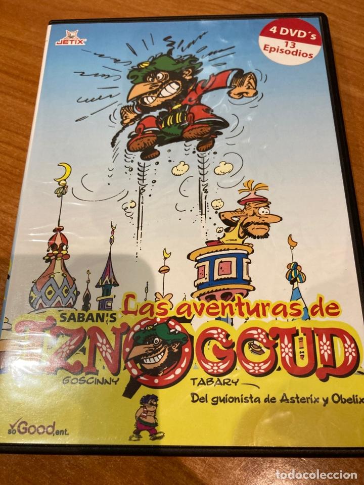 LAS AVENTURAS DE IZNOGOUD (Cine - Películas - DVD)