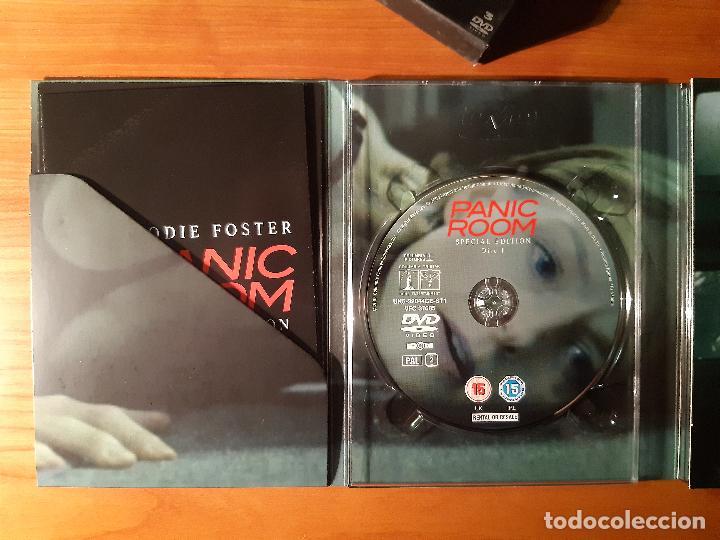 Cine: PANIC ROOM (LA HABITACIÓN DEL PÁNICO) (2002) (3 DVDs) - Foto 5 - 226119230