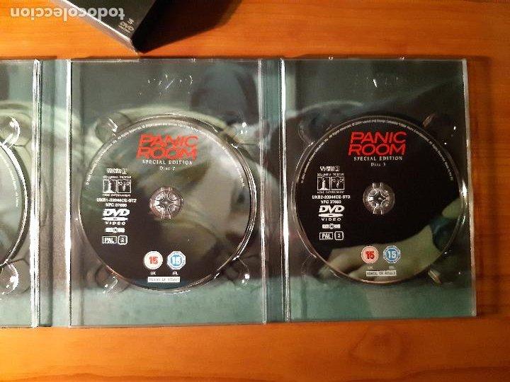 Cine: PANIC ROOM (LA HABITACIÓN DEL PÁNICO) (2002) (3 DVDs) - Foto 6 - 226119230