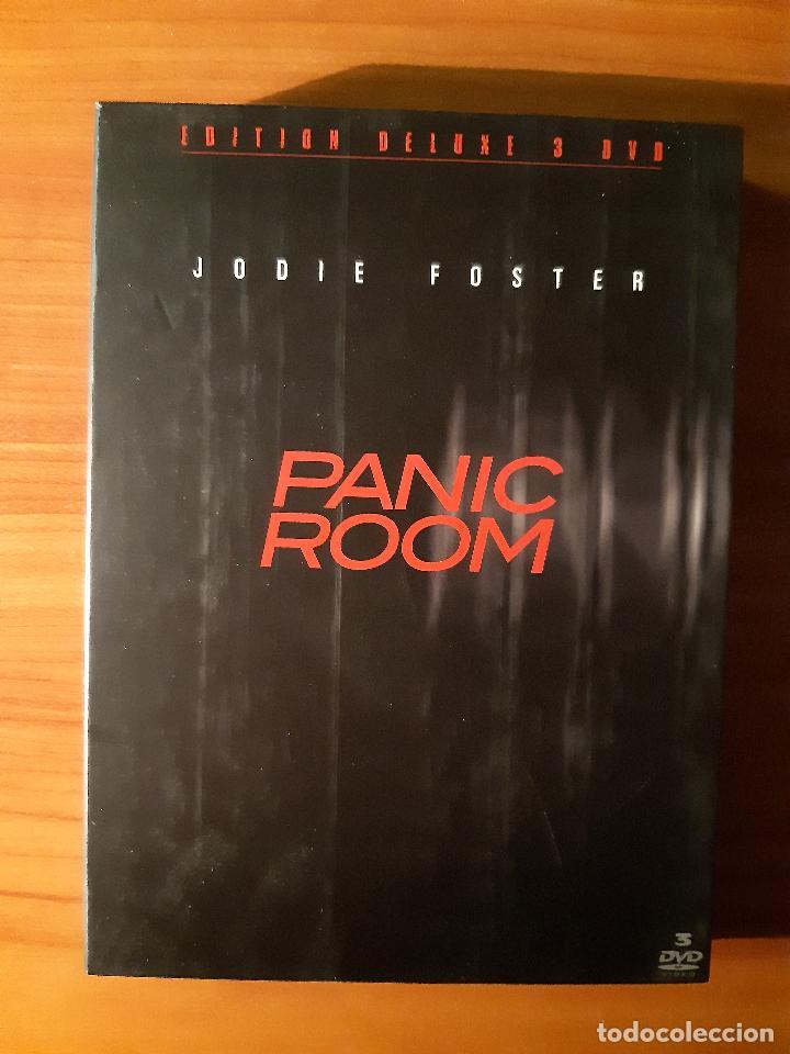 'PANIC ROOM' (LA HABITACIÓN DEL PÁNICO) (2002) (3 DVD'S) (Cine - Películas - DVD)