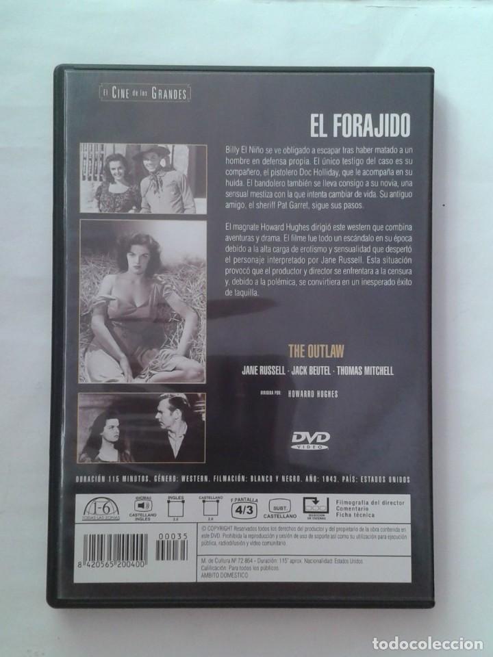 Cine: EL FORAJIDO- DVD - Foto 2 - 226119365