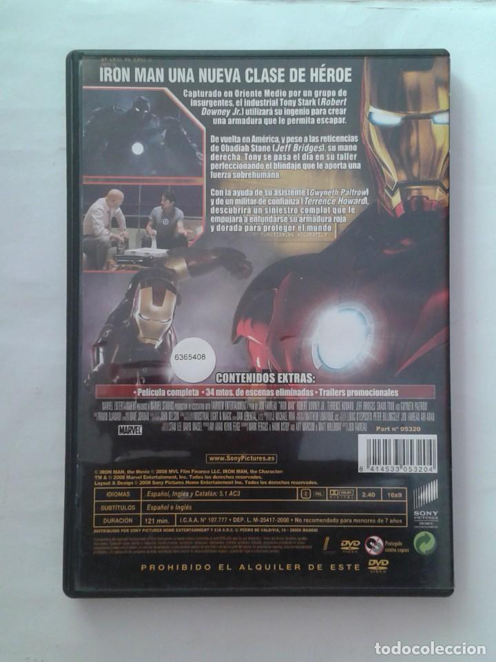 Cine: IRON MAN- DVD - Foto 2 - 226120246