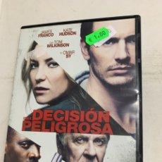 Cine: V21 UNA DECISIÓN PELIGROSA DVD PROCEDENTE VÍDEOCLUB. Lote 226290725
