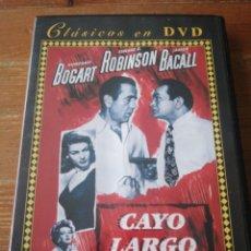 Cine: DVD CAYO LARGO. Lote 226508440
