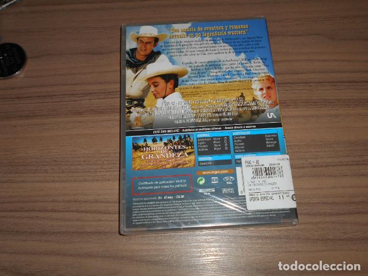 Cine: HORIZONTES de GRANDEZA DVD Gregory Peck CHARLTON HESTON Jean Simmons NUEVA PRECINTADA - Foto 2 - 226687537