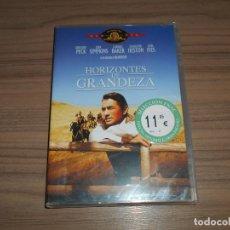 Cine: HORIZONTES DE GRANDEZA DVD GREGORY PECK CHARLTON HESTON JEAN SIMMONS NUEVA PRECINTADA. Lote 226687537