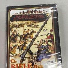 Cine: EL RIFLE QUE CONQUISTÓ EL OESTE (CON DENNIS MORGAN, PAULA RAYMOND Y RICHARD DENNING). Lote 226689525