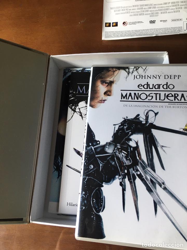 Cine: Pack Eduardo Manostijeras de Tim Burton, con Johnny Depp y Winona Ryder.Edición para coleccionistas. - Foto 5 - 226691340
