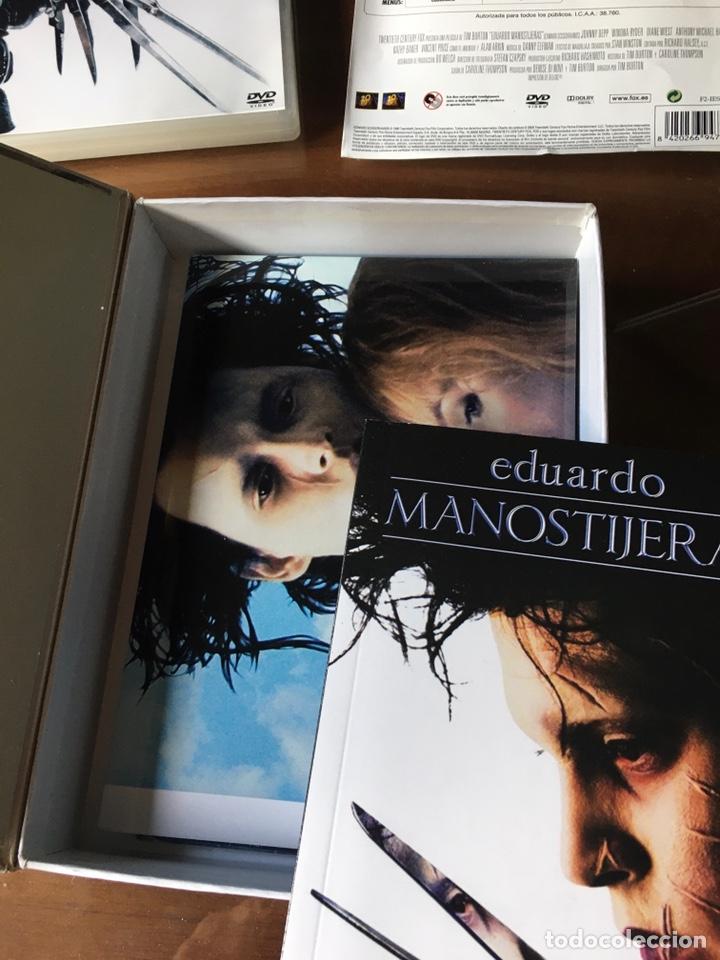 Cine: Pack Eduardo Manostijeras de Tim Burton, con Johnny Depp y Winona Ryder.Edición para coleccionistas. - Foto 6 - 226691340