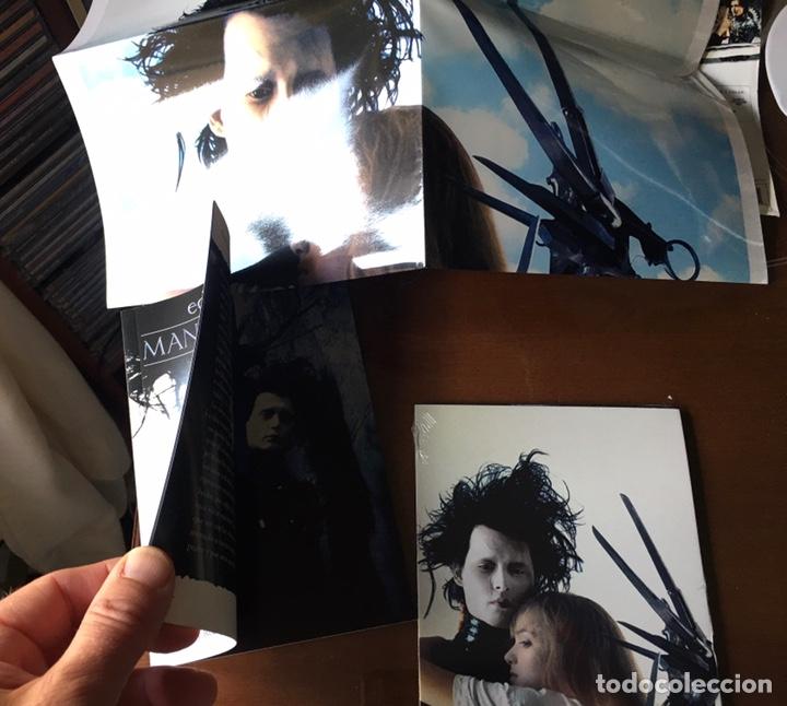 Cine: Pack Eduardo Manostijeras de Tim Burton, con Johnny Depp y Winona Ryder.Edición para coleccionistas. - Foto 7 - 226691340