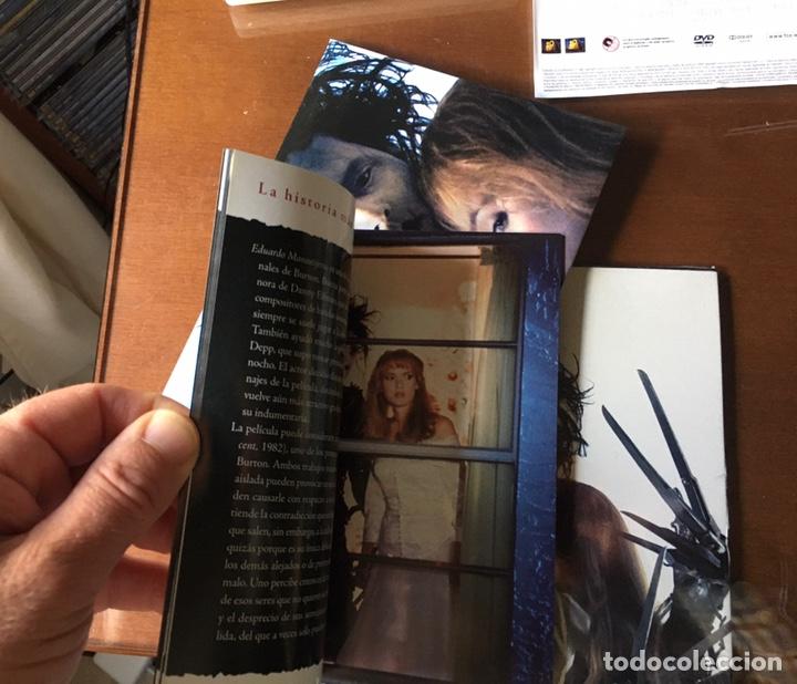 Cine: Pack Eduardo Manostijeras de Tim Burton, con Johnny Depp y Winona Ryder.Edición para coleccionistas. - Foto 8 - 226691340